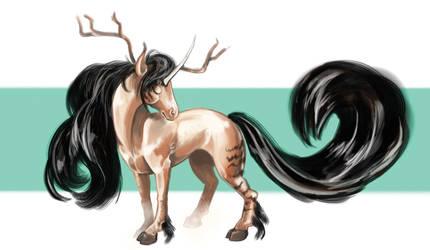Kirin-unicorn-thingy by reneedicherri