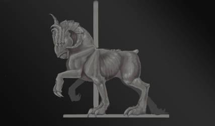 Sleipnir posed by reneedicherri