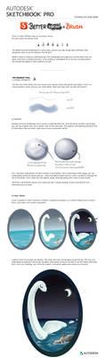 BKAB - SketchBook Pro Marker tutorial by reneedicherri