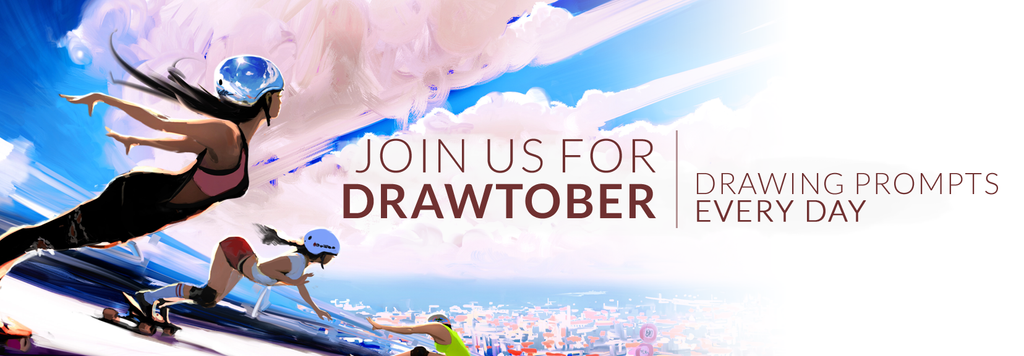 Lena-pencil-banner-DRAWTOBER by reneedicherri