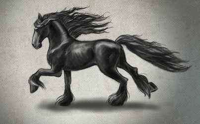 Friesian from reference !