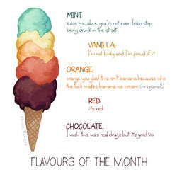 Flavours of the Month: March 2017