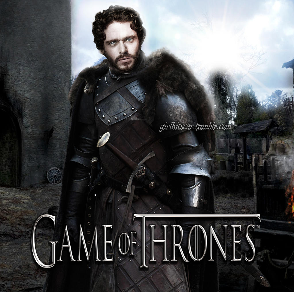 Robb Stark King In The North By Girlhitscar8