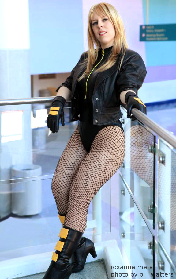 The Black Canary by RoxannaMeta