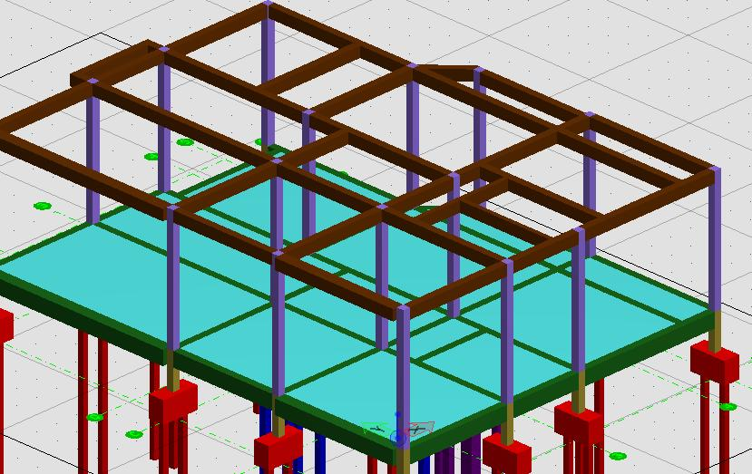 3D CAD :: Bungalow Structure by Ardagor on DeviantArt