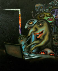 Hackers and trolls