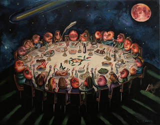 Midnight feast by marcelflisiuk
