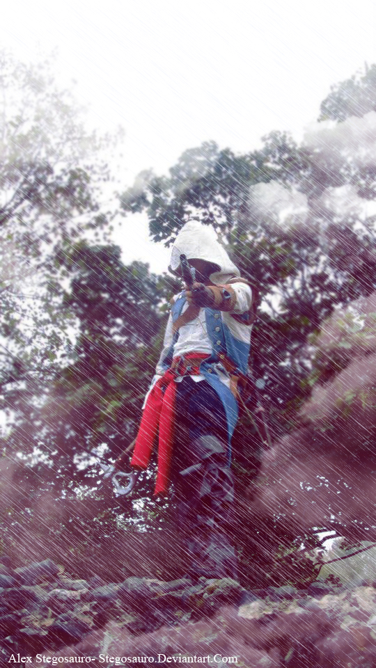 Connor Cosplay Assassins creed III by stegosauro