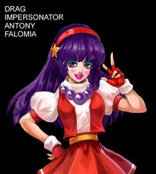 Drag Impersonator Antony Falomia by lurdpabl