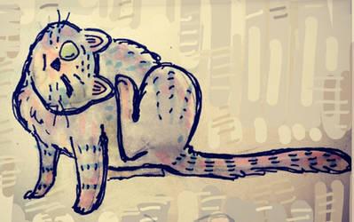 cat sketch 2