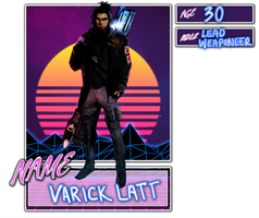 [Ziion]  Varick Latt by Warden-chan