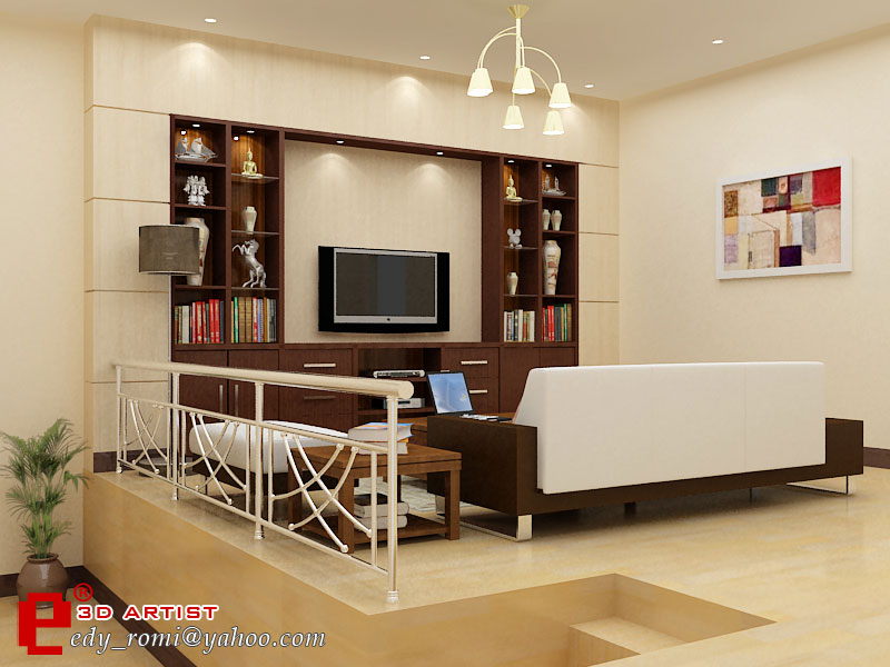Ordinaire Living Room By Cuanz ...