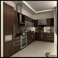 kitchen at Karmel V3 by cuanz