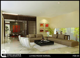LIVING ROOM KARMEL 2 by cuanz