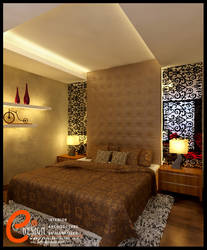 Taman Anggrek,Master Bedroom1 by cuanz