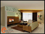 Taman Anggrek,Living room 1