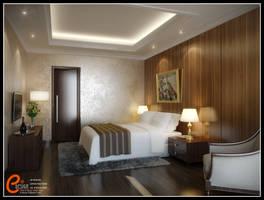 Master Bedroom Darmawangsa apartment
