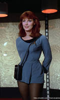Crusher in TOS uniform