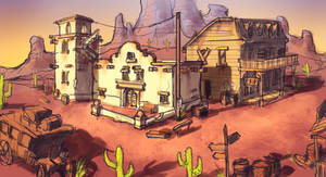 Western Town Concept