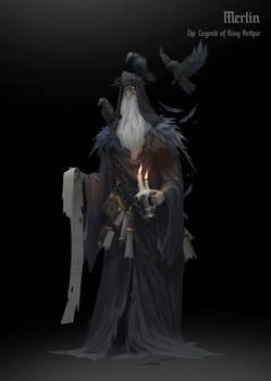 The Legend of King Arthur - Merlin
