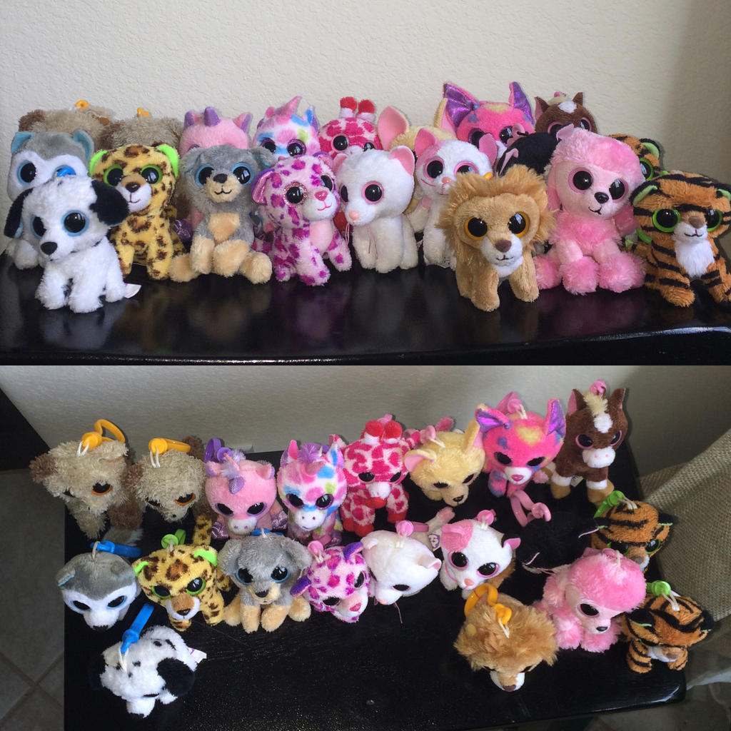TY Beanie Boo Keychain Collection By Webkinzsignature572