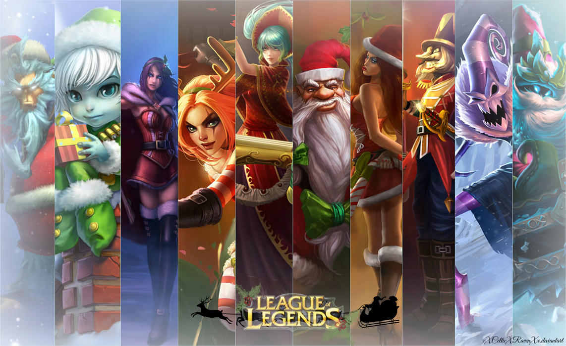 League Of Legends Christmas Wallpaper Twoj Doktor