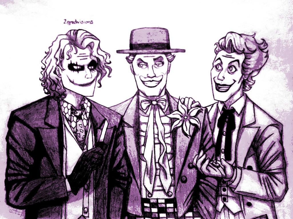 The Clown Princes of Hollywood by 2gredvisions