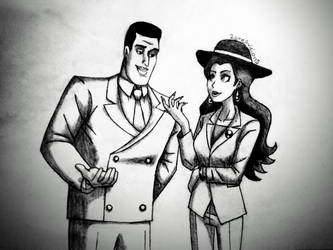 Harvey and Pauline by 2gredvisions