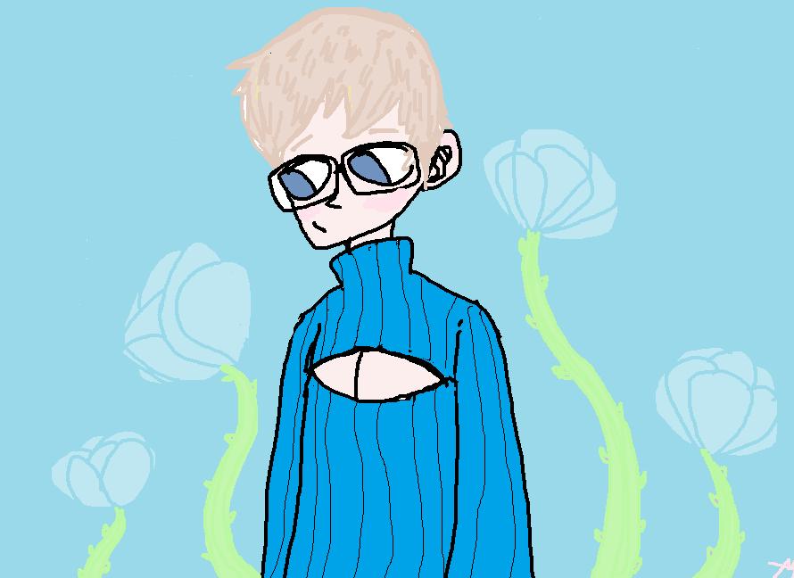 Boob Sweater: Kyousuke by ryshufyrekat