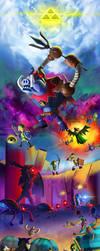 Zelda Battle Quest Tribute by Zesiul