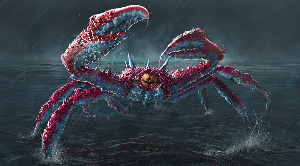 Armored Crustacean Gohma by Zesiul
