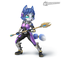 Krystal Smashified Transparent by Zesiul