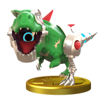 Mecha Drago Smashified Trophy