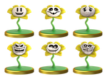 Flowey Smashified Trophy by Zesiul