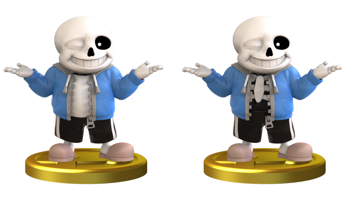 Sans Smashified Trophy by Zesiul