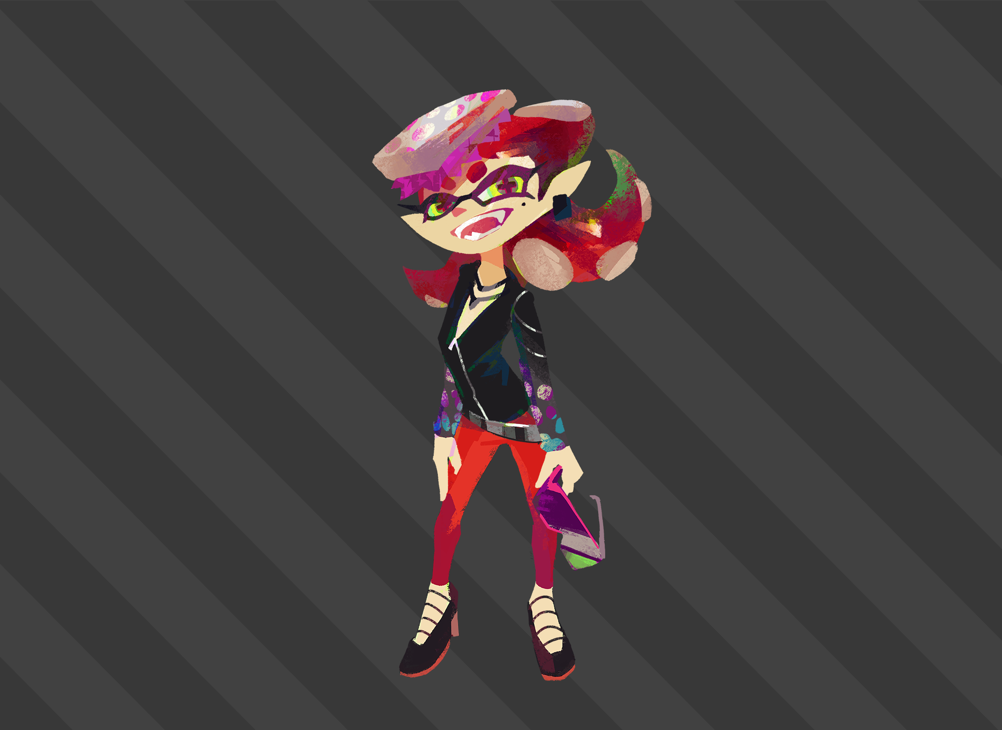 Octo-Callie by Zesiul