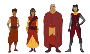 Family Lineup by onfornever