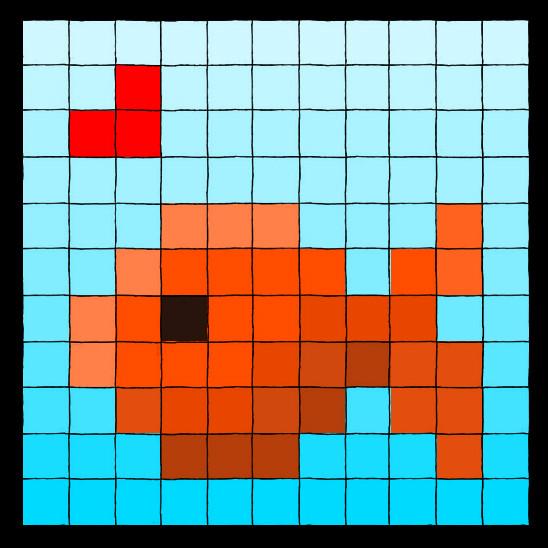 Pixelfish Is In Love by traumtaenzer