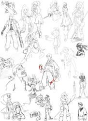 Sketchdump! by Darkflame411