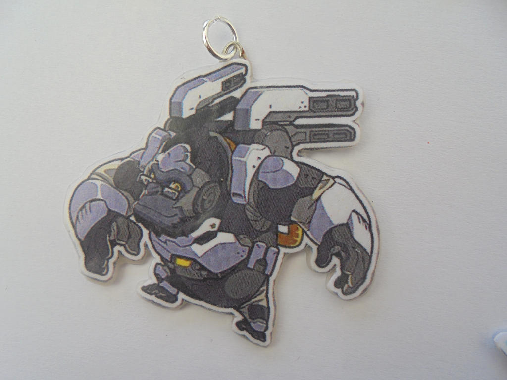 Overwatch Winston Necklace by Vavercraft