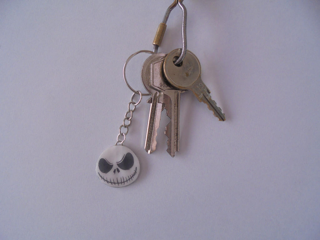 Nightmare before christmas keychain by Vavercraft