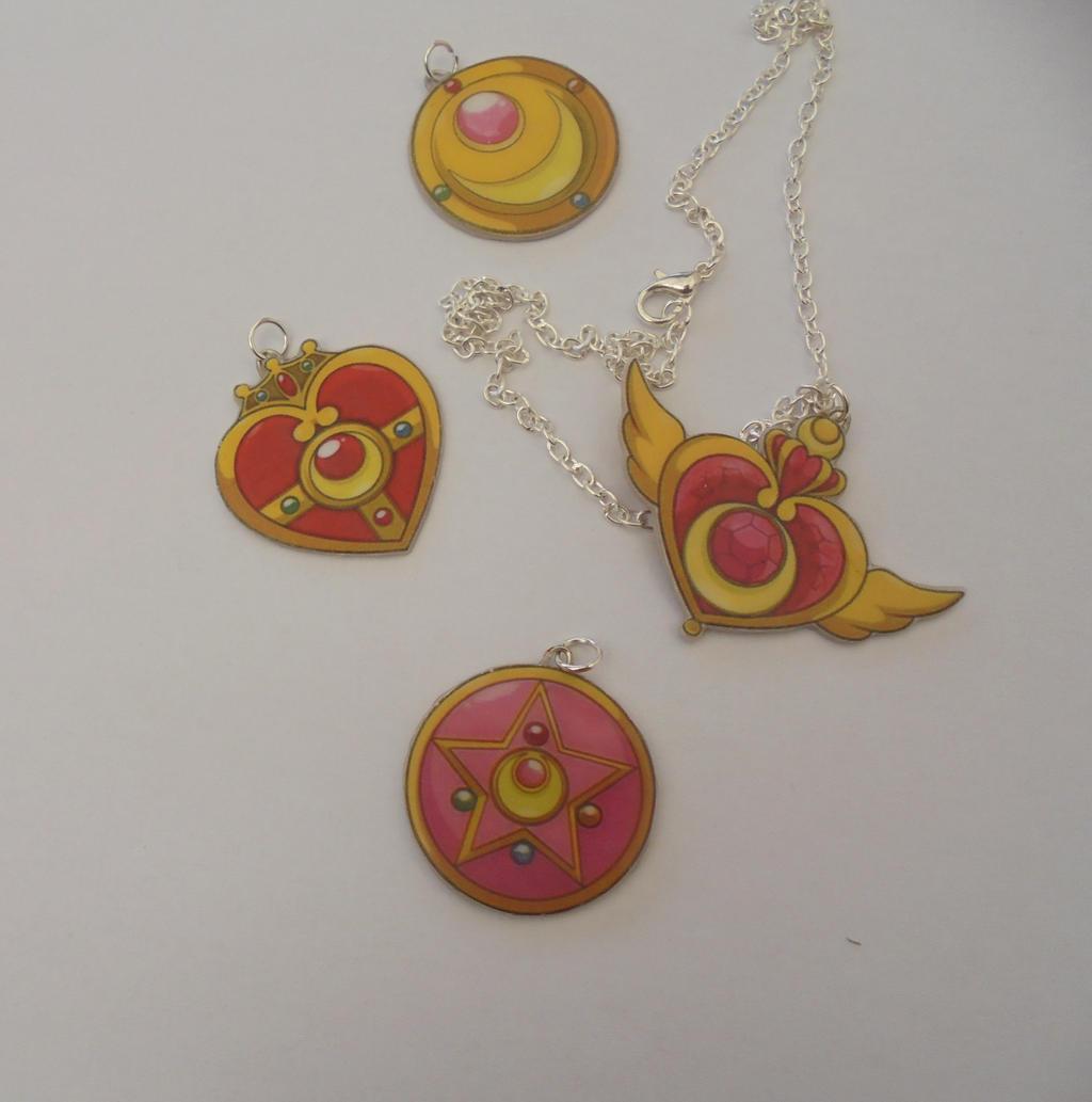 Sailor Moon  Necklace by Vavercraft