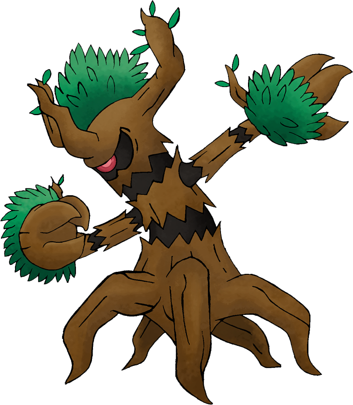 The treant ripoff, Trevenant grows in! | Smashboards