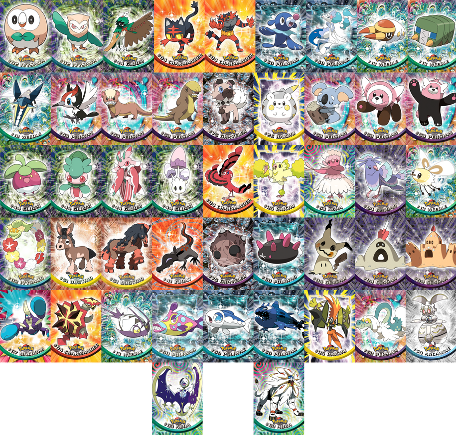 Generation VII Topps cards by ubasuteyama