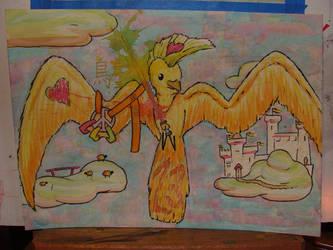 Last Bird 23 by americanimengel