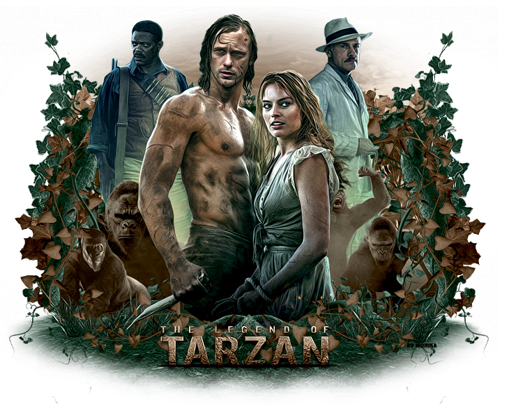 The Legend of Tarzan by MonikaC