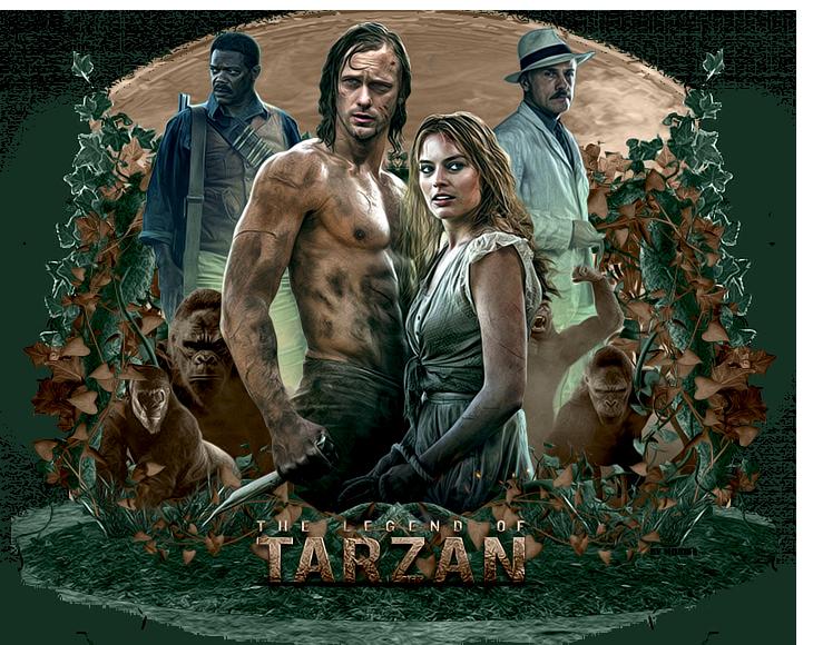 The Legend of Tarzan by MonikaC