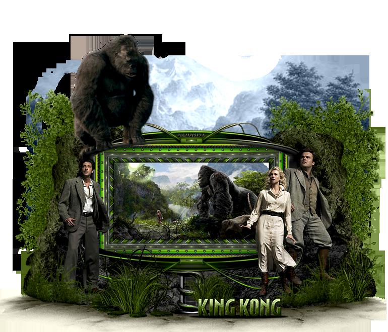 King Kong by MonikaC