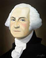 George Washington by barneybluepants