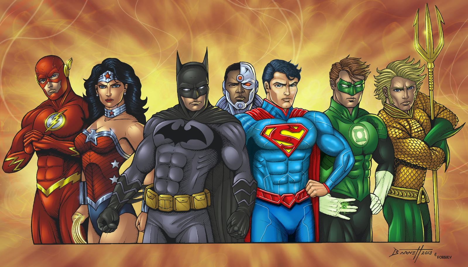Justice League by barneybluepants